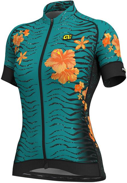 Cycling Graphics Prr Manches Maillot Femme Alé Savana Courtes Noirturquoise ZiPXuOk
